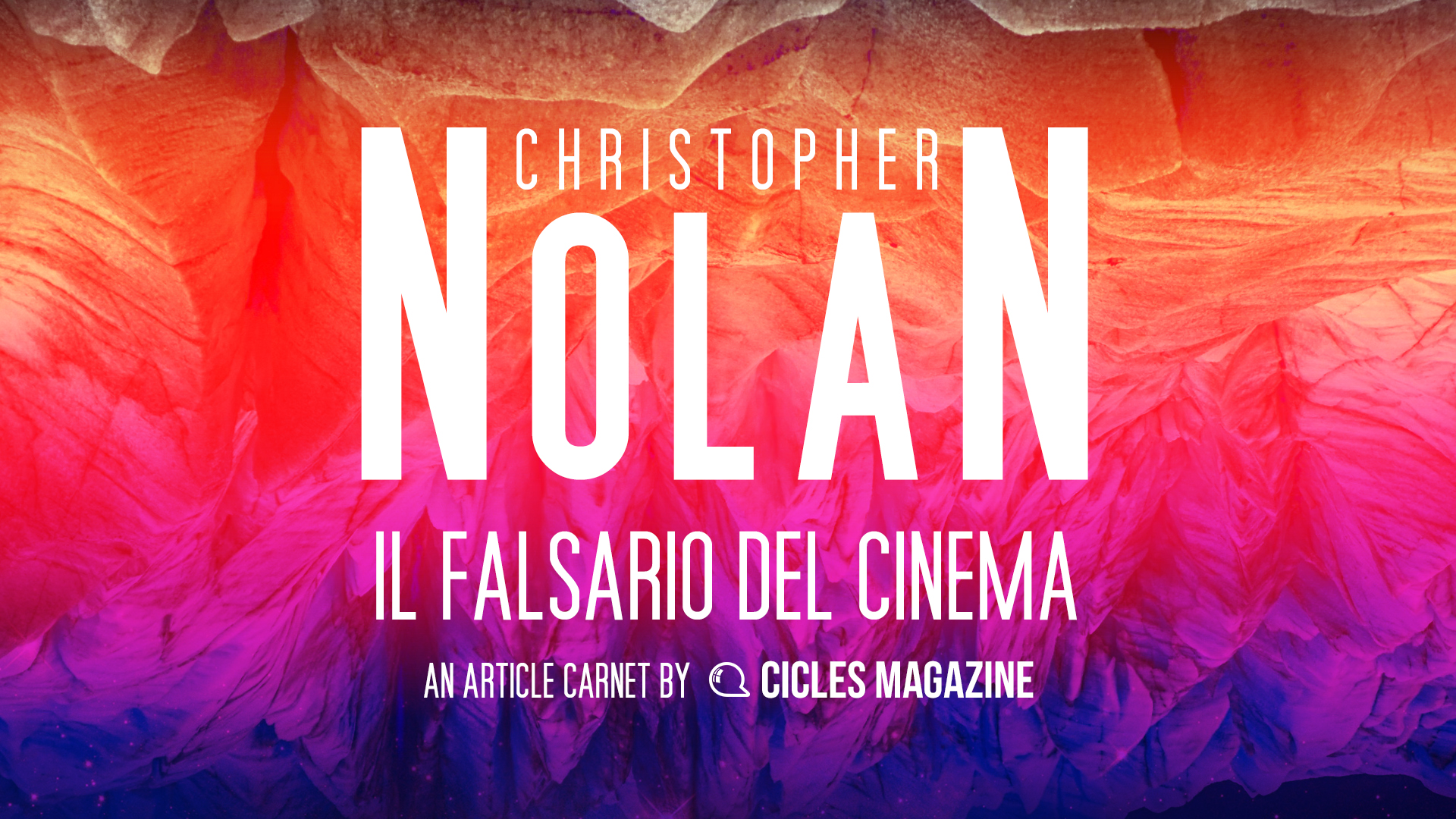 Christopher Nolan Carnet